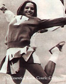 Katie Couric cheerleader