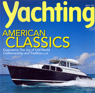 huckins yacht,yachting magazine